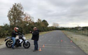 Piste moto privée